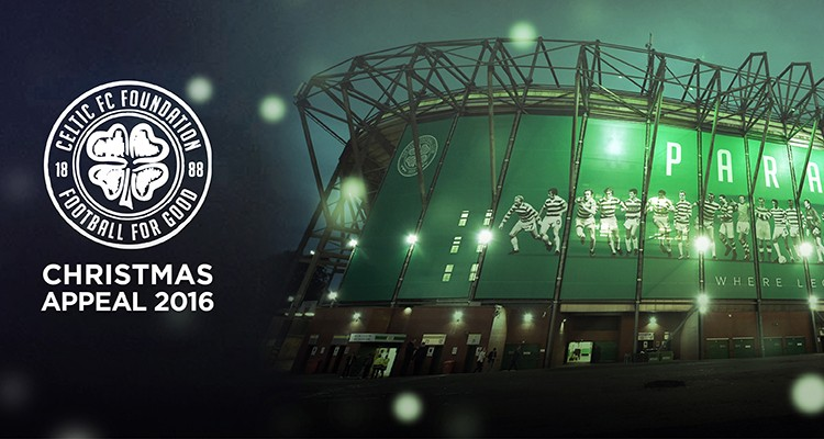 Champions get behind Celtic FC Foundation's 2016 Christmas Appeal