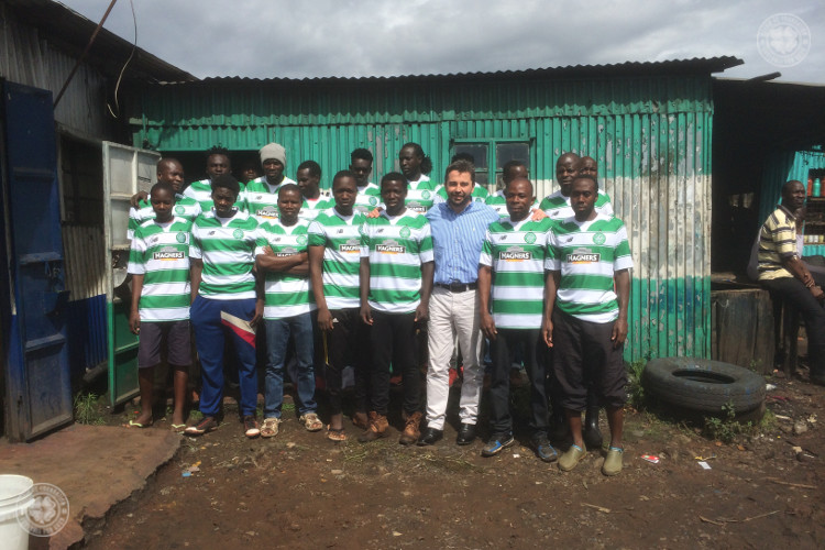 Celtic FC Foundation send Hoops tops around the world
