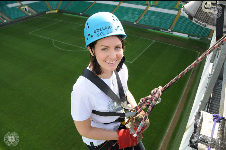 Abseil in Paradise for Celtic FC Foundation