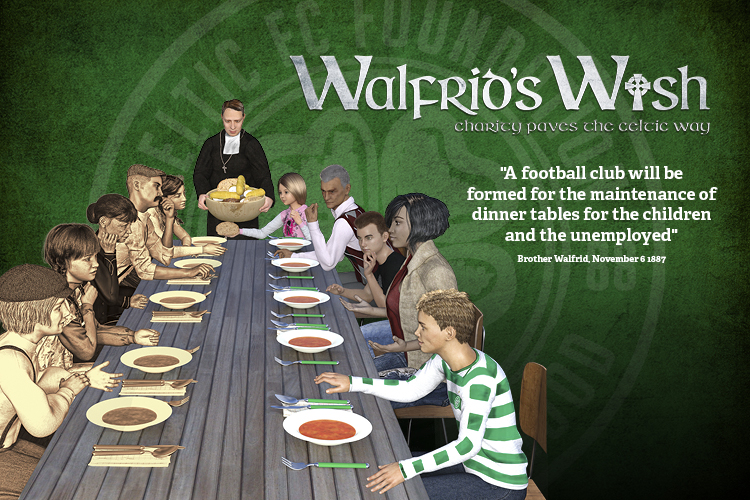 Sign up for Walfrid's Wish and support Celtic FC Foundation's work