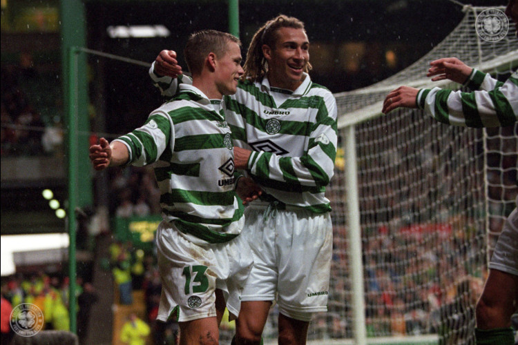 Simon Donnelly delighted to meet up again with Henrik and Lubo