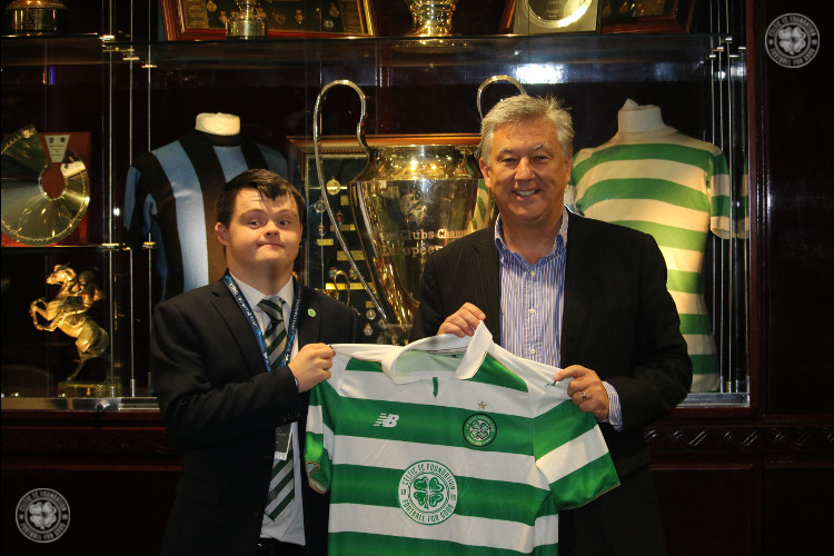 Alex is a tour de force for Celtic FC Foundation