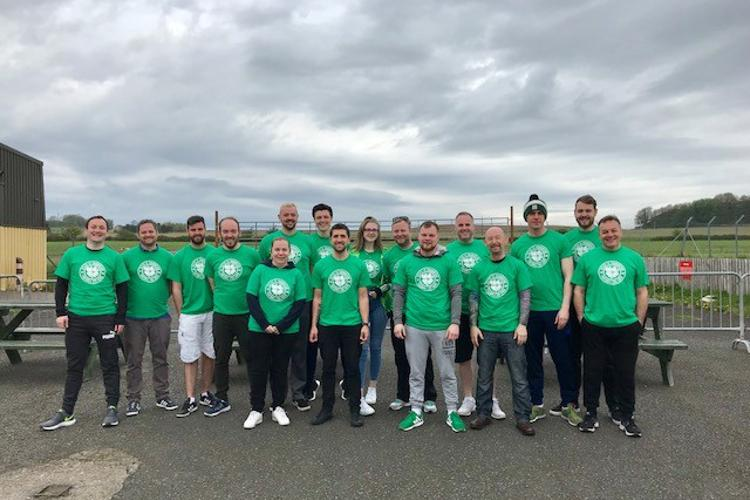 Hoops fans take to the skies for Celtic FC Foundation