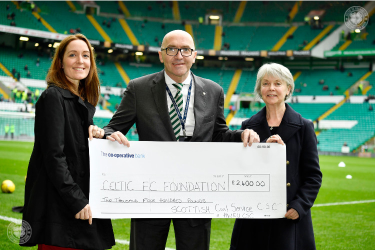 Supporters' clubs backing the work of Celtic FC Foundation