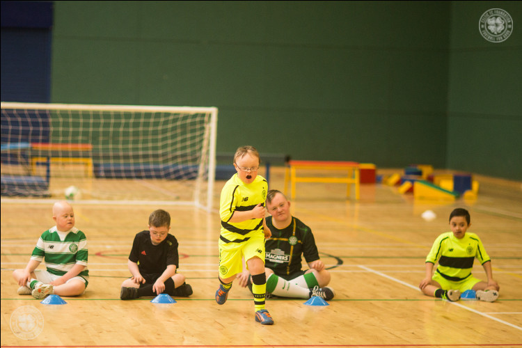 Celtic FC Foundation celebrates World Down's Syndrome Day