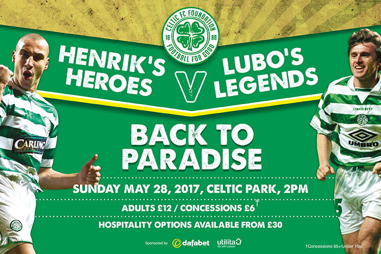 Henrik's Hereos v Lubo's Legends - Confirmed Players