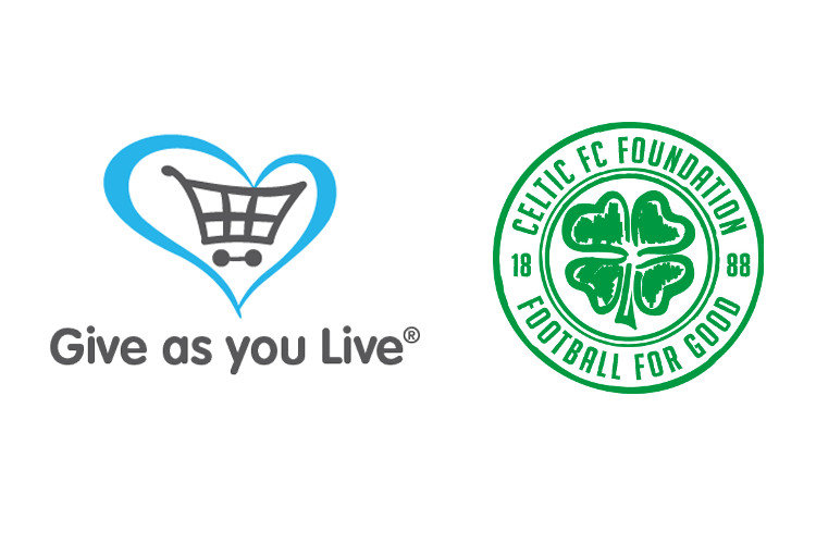 Celtic FC Foundation is the Give as you Live Charity of the Month