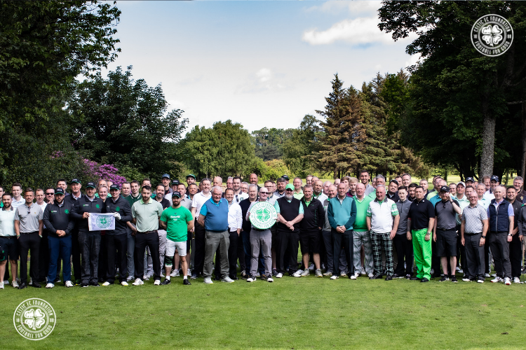 A winning round for Celtic FC Foundation's annual golf day