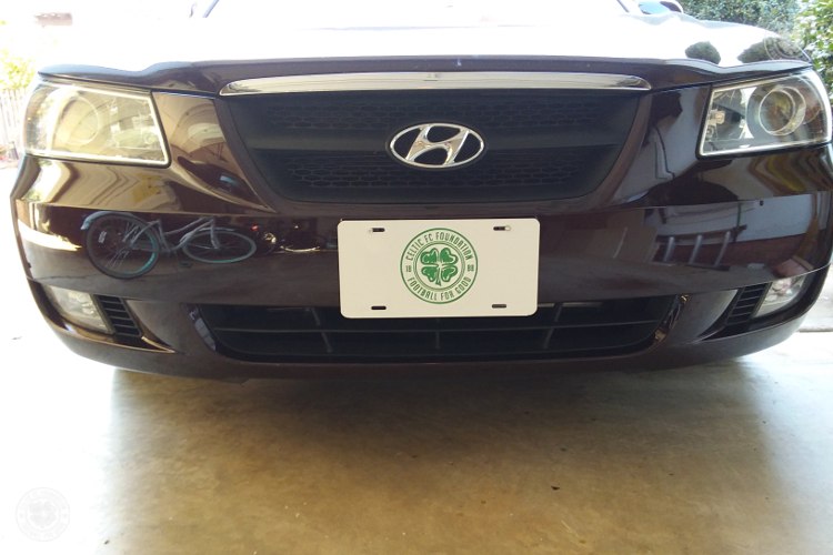 Celtic FC Foundation License Plates Available in USA and Canada