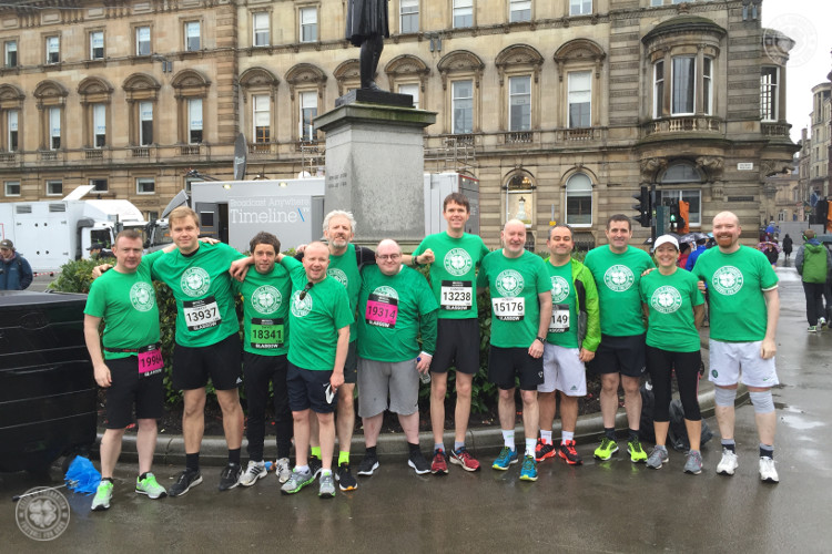 Get on your marks for Celtic FC Foundation in Great Scottish Run