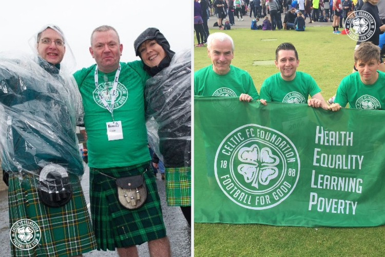 Get active in 2019 and raise funds for Celtic FC Foundation