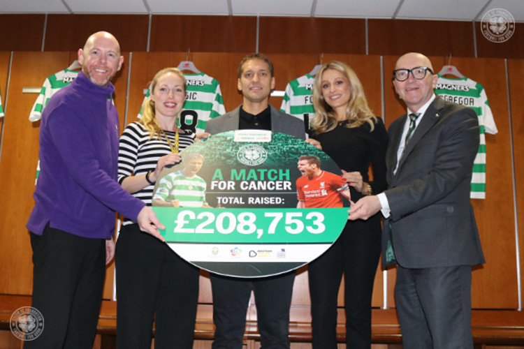 A Match For Cancer raises an amazing £208,753