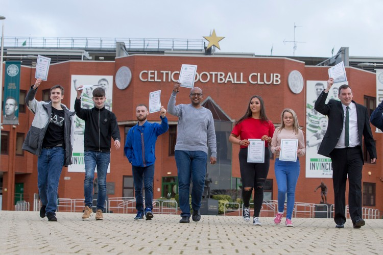 Success of Celtic FC Foundation and Utilita Employability Project