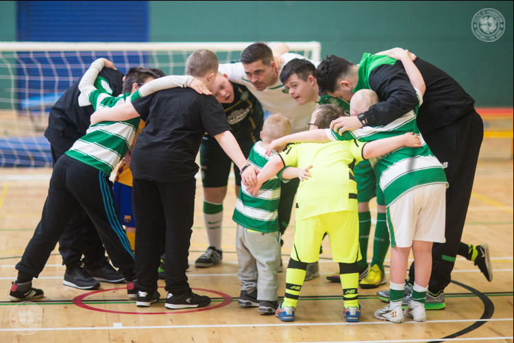 Awards triumph for Celtic FC Foundation's Ability Counts project