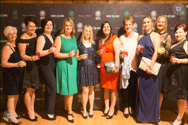 Ghirls For Good raise more than the roof for Celtic FC Foundation