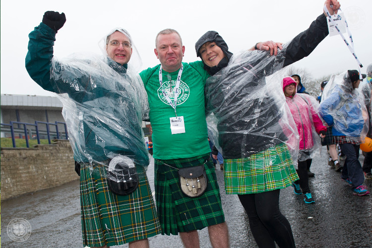 Take part in the Kiltwalk for Celtic FC Foundation