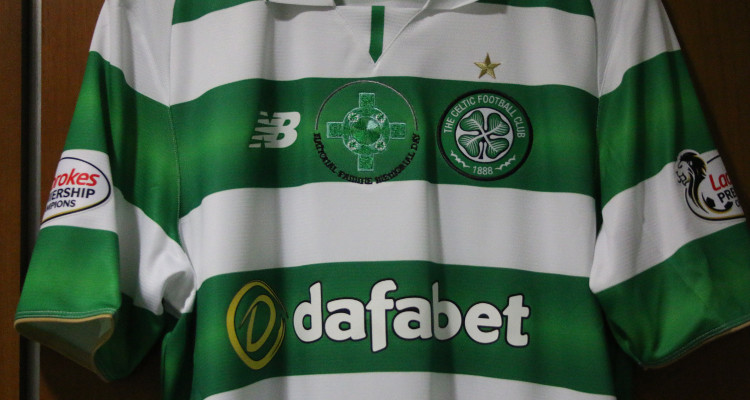 Unique Hoops 5-1 derby shirts auctioned for Celtic FC Foundation