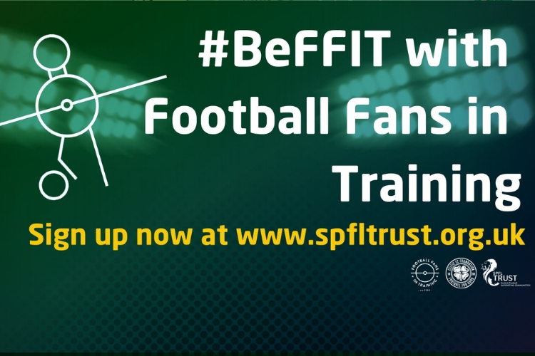 Kick off 2019 by signing up to Football Fans In Training