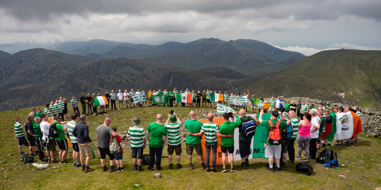 Slieve Donard Huddle raises £10k for Celtic FC Foundation