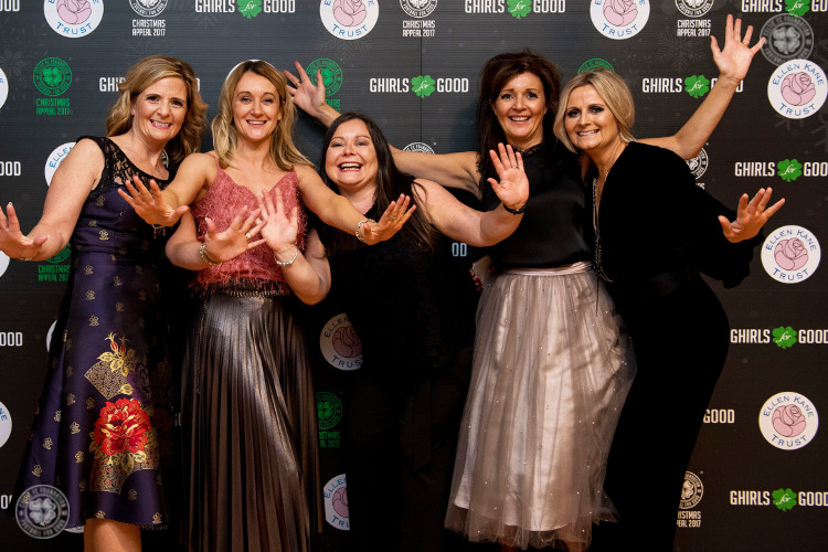 Ghirls for Good - £21,000 to Celtic FC Foundation Christmas Appeal
