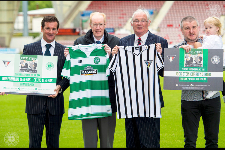 Jock Stein 30th anniversary charity match and dinner