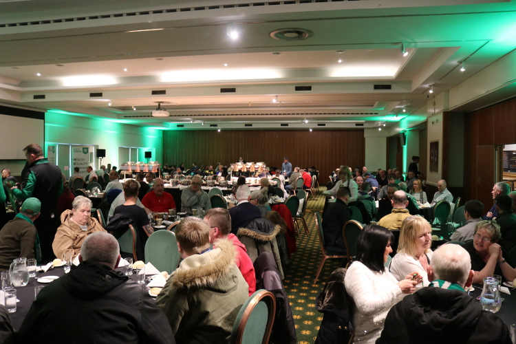 Foundation host Celtic Park lunch in the spirit of Brother Walfrid