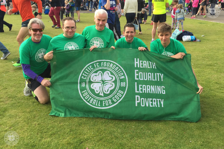 Get running for Celtic FC Foundation in the 2017 Great Scottish Run