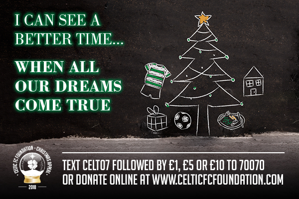 Celtic FC Foundation Christmas Appeal beneficiary: Wayside Club