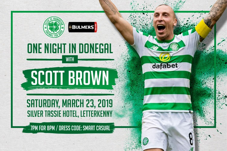 One night in Donegal with Scott Brown