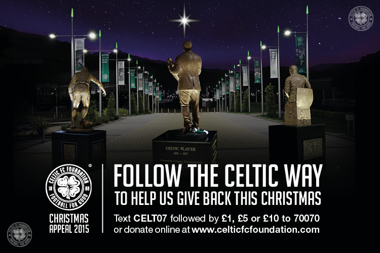 Celtic FC Foundation and Simon Community Scotland