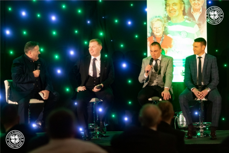 Celtic FC Foundation's Annual Sporting Dinner's £105k success