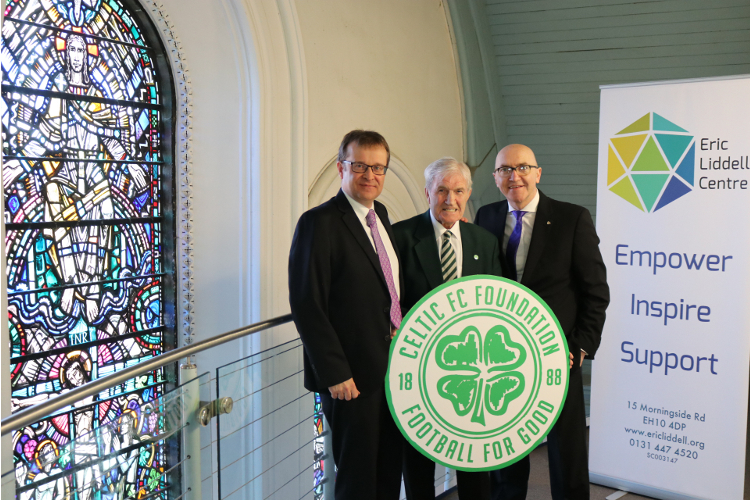 CELTIC FC Foundation link up with Eric Liddell Centre