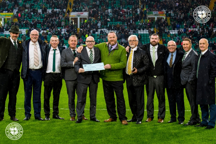 Wander Bhoys' Kilimanjaro challenge raises £50k for Foundation