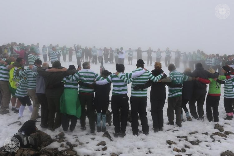 Celtic FC Foundation are delighted to kick off the 2015 Ben Nevis Huddle