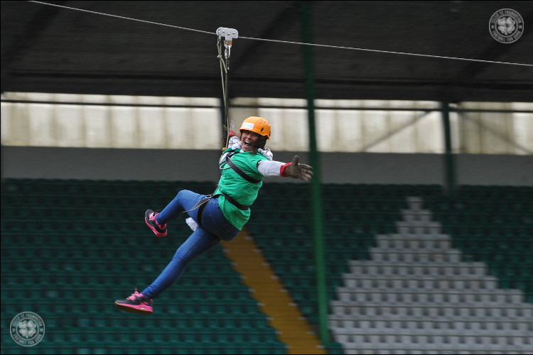 Paradise Zip-Sliders hit the heights for charity