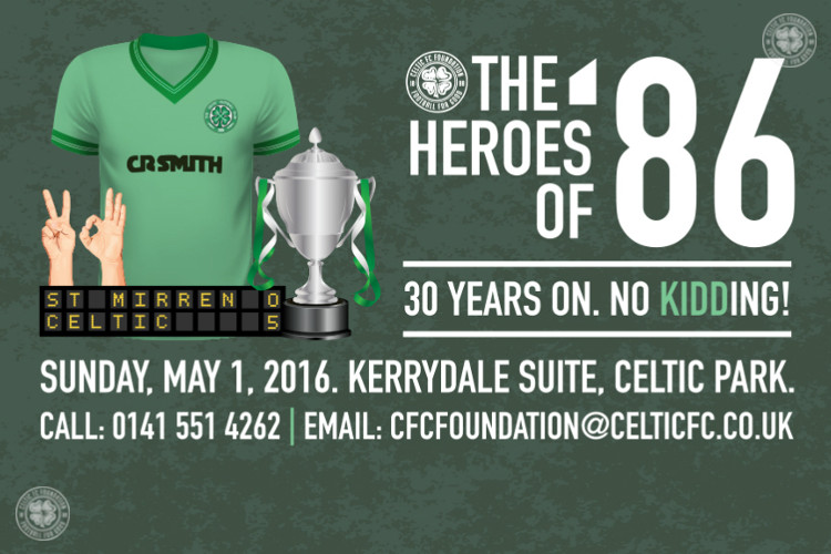 Join the Heroes of '86 for a special Celtic night