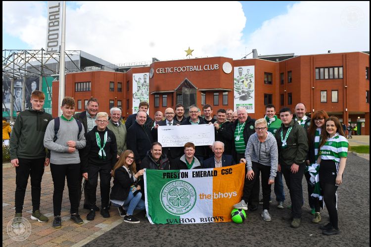 Celtic Supporters' Clubs back 67 Kitchens in honour of the Lions