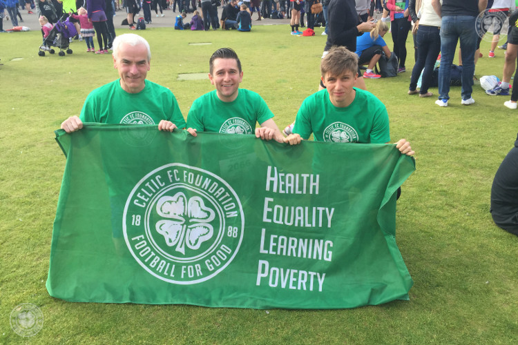 Take the Great Scottish Run with Celtic FC Foundation
