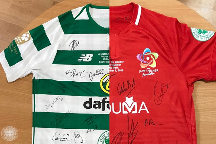 Your chance to bid for unique a match for cancer memorabilia