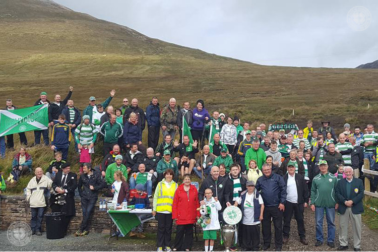 From Paradise to Donegal's Mount Errigal with Celtic FC Foundation