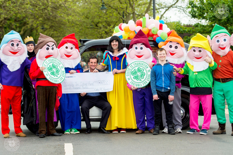 Tosh: Taxi Outing support is fare play from Celtic