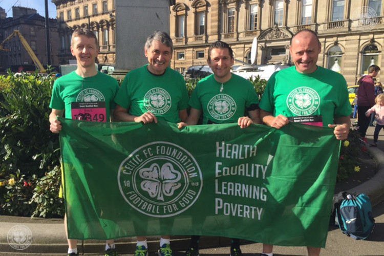 Supporters keep on running for Celtic FC Foundation