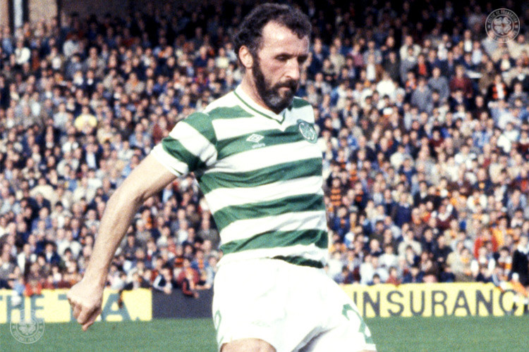 Danny McGrain sliding at Paradise once more
