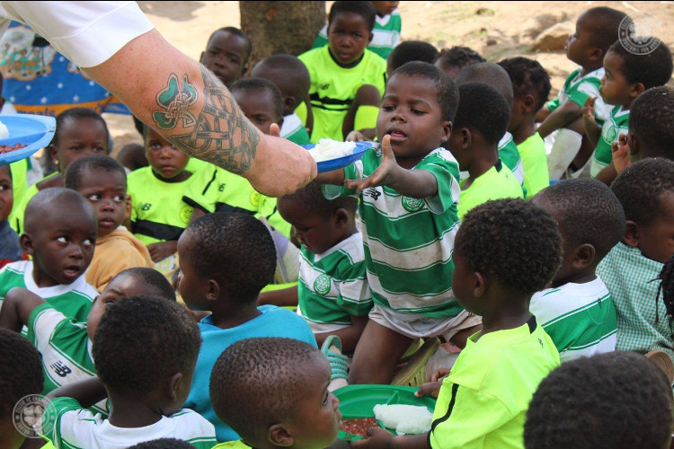Celtic FC Foundation volunteers making an impact in Malawi