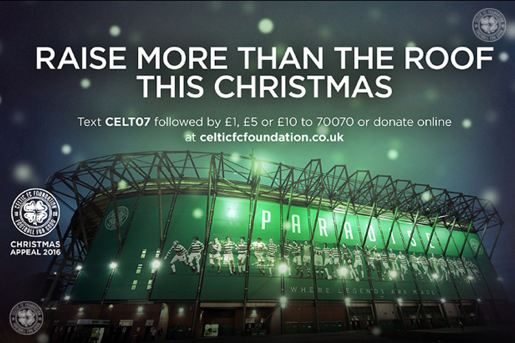 CELTIC FC FOUNDATION'S CHRISTMAS APPEAL SERIES: THE SALVATION ARMY