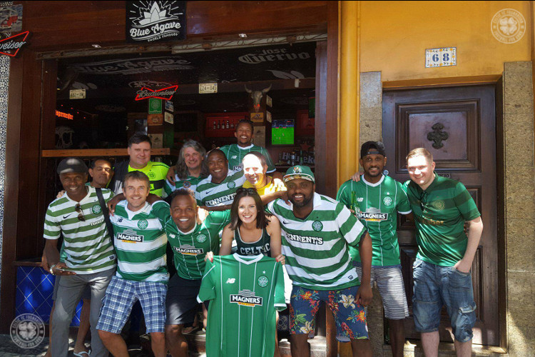 Celtic FC Foundation and New Balance make Bhoys in Brazil