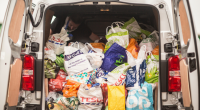 Celtic FC Foundation and Glasgow NE Foodbank Food Collection
