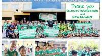 Celtic FC Foundation and New Balance in the Philippines