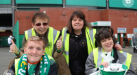 Great success for Celtic FC Foundation badge day