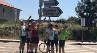 The Road to Lisbon cycle rolls in to town for Celtic FC Foundation